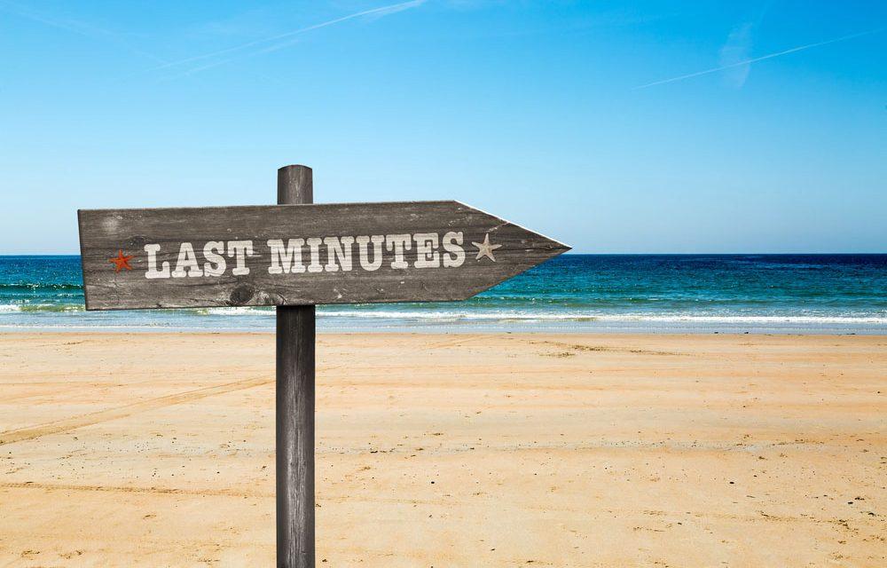 Top 10 last minute bestemmingen